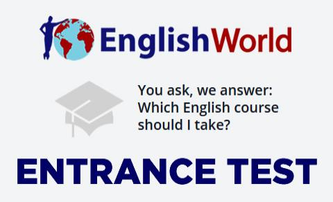 Entrance Test - English World